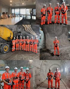 bank station capacity upgrade project_studenttour_collage