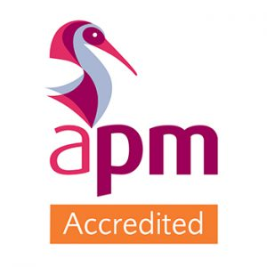 APM Corporate Accreditation Badge