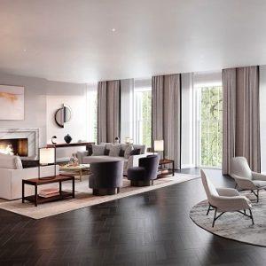 grosvenor square living room
