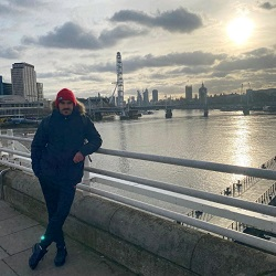 100 mile challenge walking in london