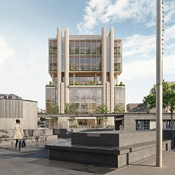 Belgrove House King's Cross MSD UK Headquarters - Artist Impression