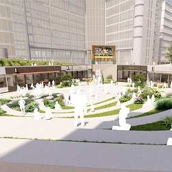 Paddington Central Amphitheatre Planning Approved