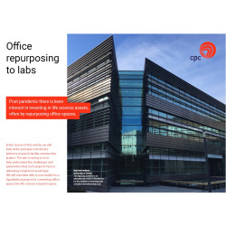Cost Model for Life Sciences Building